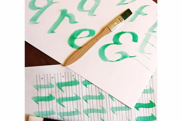 Calligraphy and Lettering course in Malta