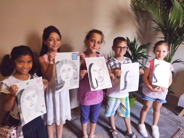 Drawing and Painting lessons for children in Malta. With Kelsey May Connor | Art Classes Malta