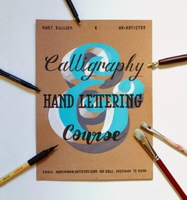 Calligraphy and Lettering course in Malta | AK Malta