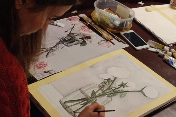 Watercolour painting course - Art Classes Malta
