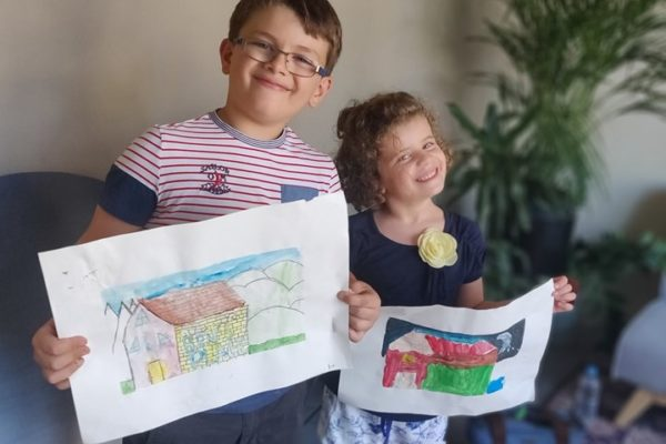 Art works by young art students - Children art | Art Classes Malta