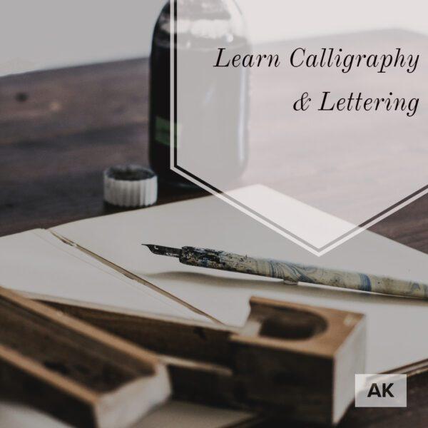 Calligraphy and Lettering course in Malta | AK Malta