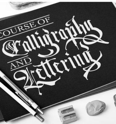 Calligraphy and Lettering course Malta - Art Classes Malta