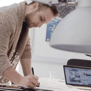 Kurt Bullock teaches graphic design, typography and calligraphy at Art Classes Malta | AK Malta