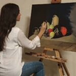 Oil Painting with Kelsey May Connor in the tradition of Classical Realism   Art Classes Malta