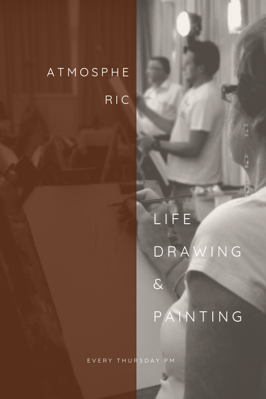 Life Drawing Malta - Atmospheric Life session in Malta every Thursday
