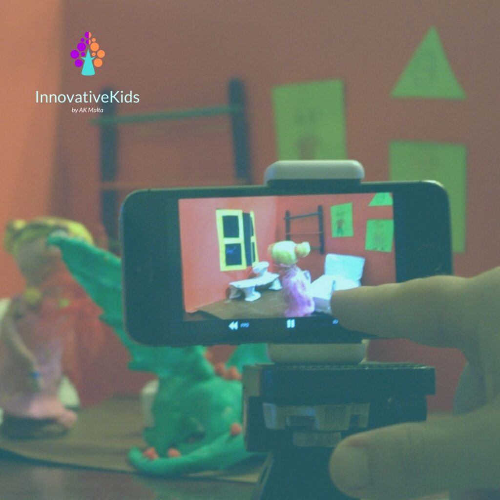 Film-making and Digital Animation for young learners | InnovativeKids Malta