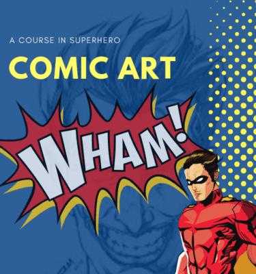 Comic Art for young learners - Art Classes Malta