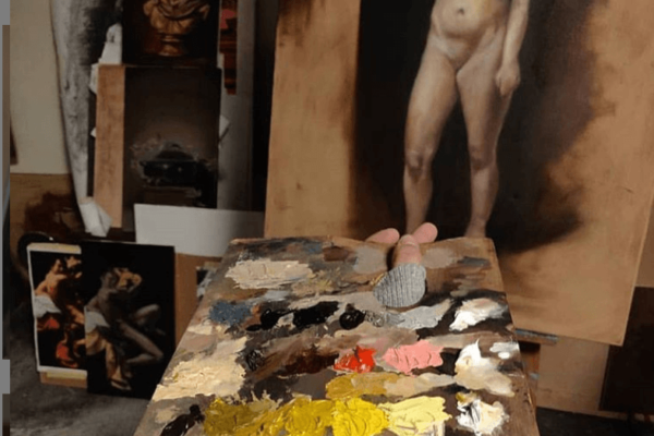 Figure Painting course for Adults - Art Classes Malta