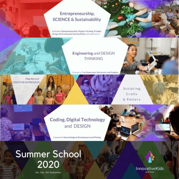 InnovativeKids Summer School 2020 by Art Classes Malta