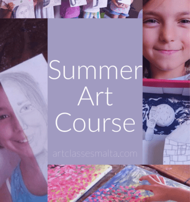 Kids Summer Art Course 2019 - Art Classes Malta