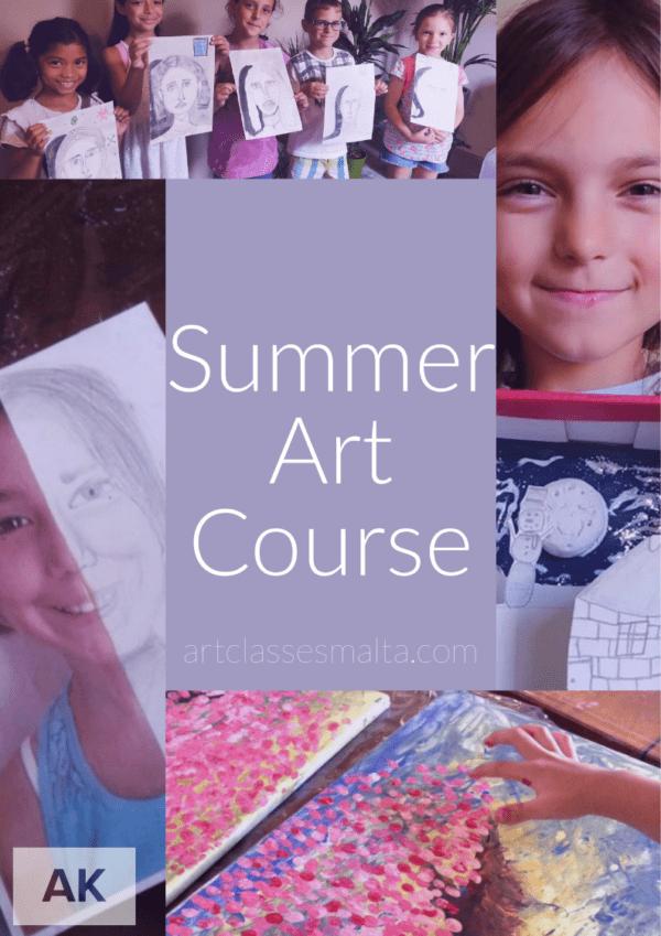 Kids Summer Art Course 2019 - Art Classes Malta
