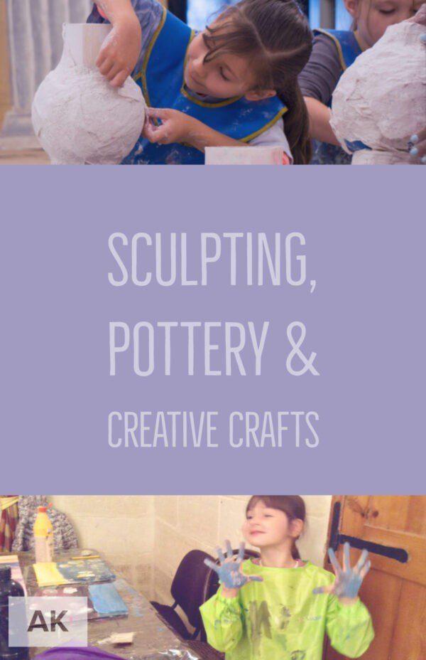 Sculpting, Pottery & Creative Crafts   Art Classes Malta