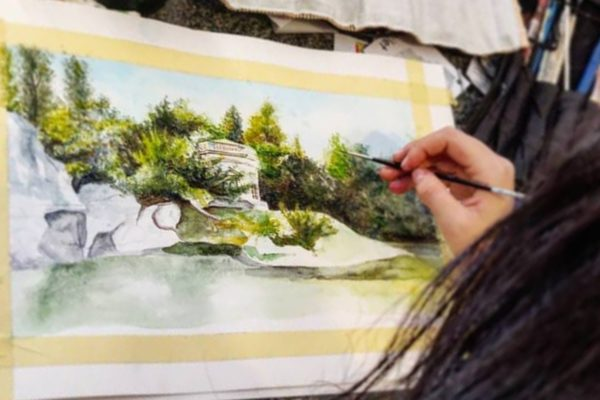 Beginner Painting Course in Watercolour and Acrylics | AK Malta