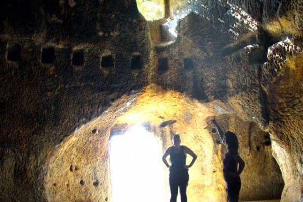 Caves inside