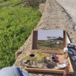 Watercolour Landscape Painting - Art Classes Malta