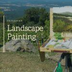 Landscape Watercolour Painting - Art Classes Malta
