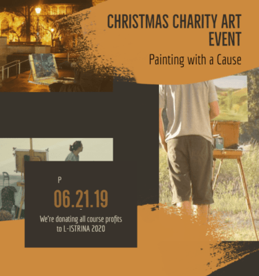 Christmas Charity Art Event - Art Classes Malta