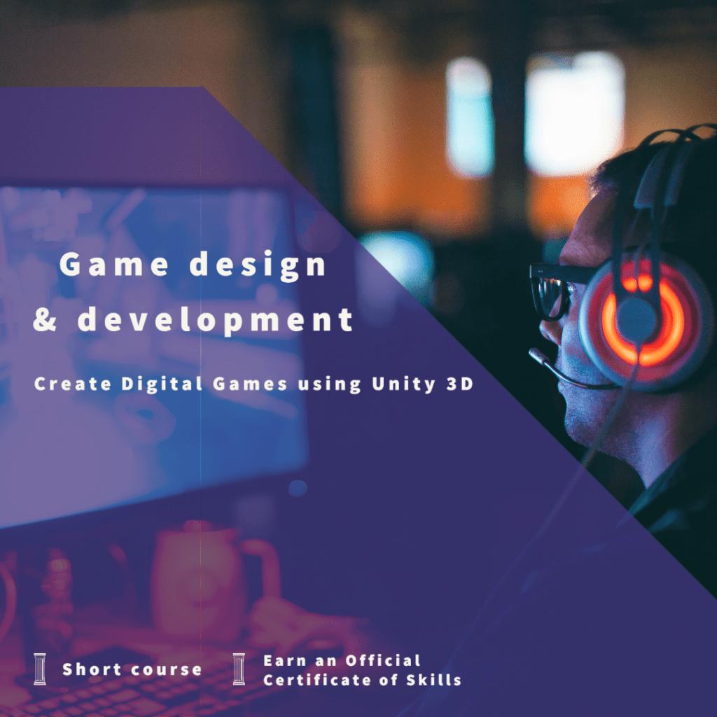 Learn Game Design and Development using Unity 3D | AK Malta