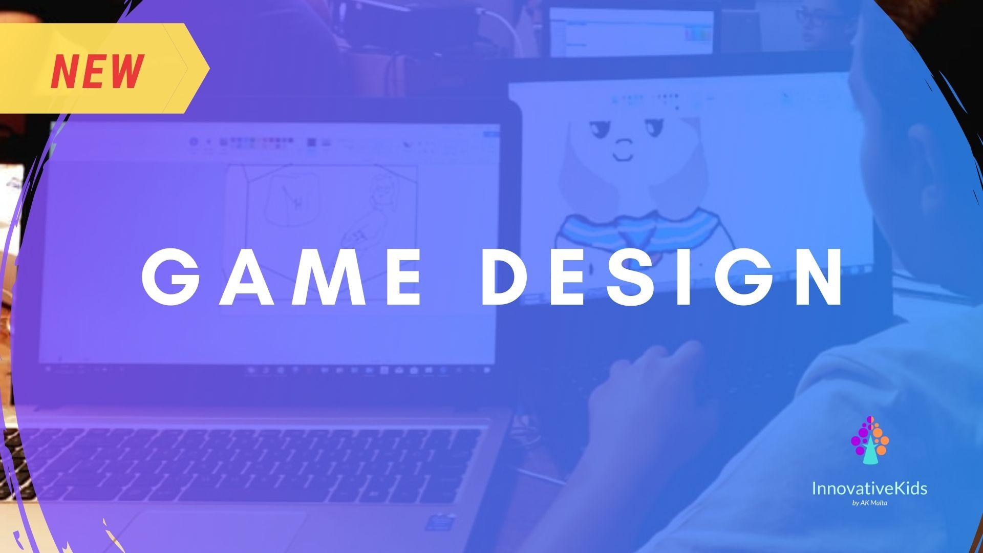 Game Design course 2021 by InnovativeKids