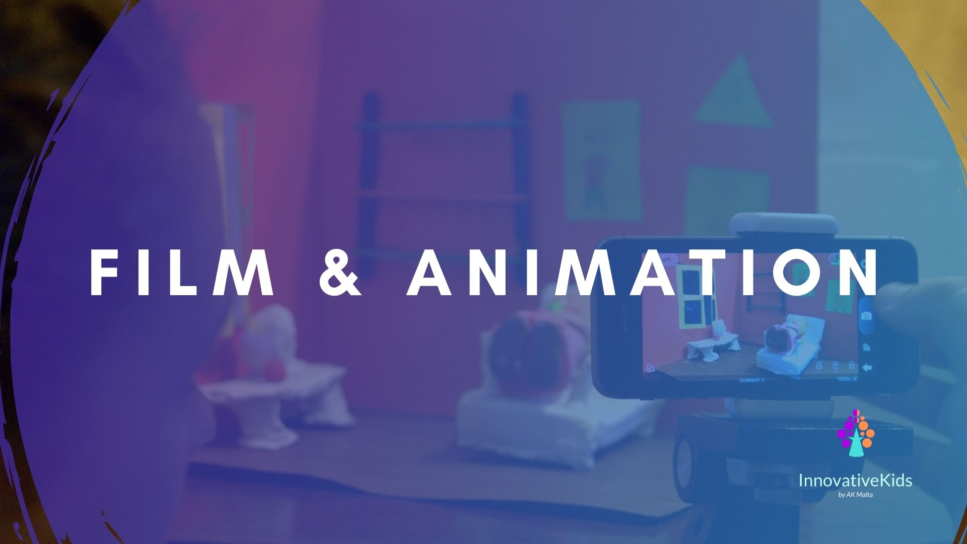 Film and Animation course 2021 by InnovativeKids
