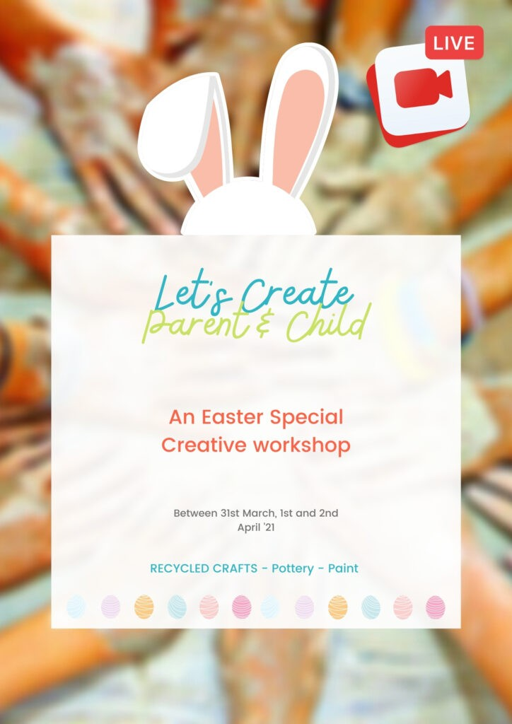 Easter Workshop - Parent and Child by LittleTree | Art Classes Malta