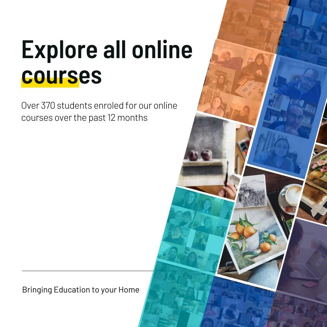 Learn Online - Art Classes Malta